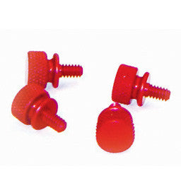 pcToys Speed Case Thumb Screw RED (4) retail package - Coolerguys