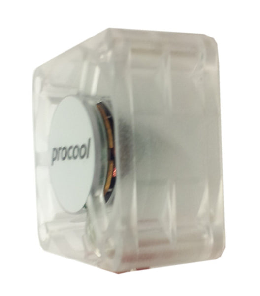 Procool 40x20mm 12V High Output Crystal Fan with Blue Leds-3 pin connector