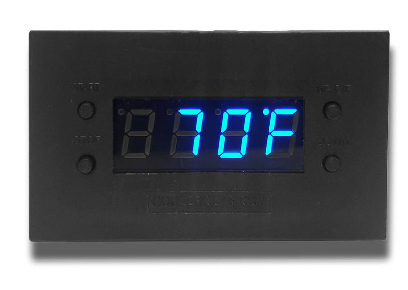 Coolerguys Programmable Thermal Fan Controller with LED Display