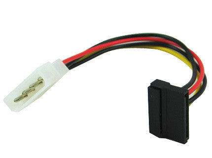 Sata power cable with right angle SATA plug GC8ATA2 - Coolerguys