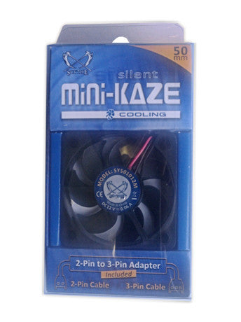 Scythe 50mm x 10mm Silent Mini Kaze fan #SY501012M