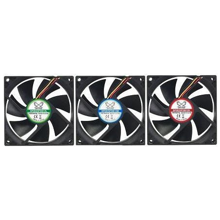 Scythe KAMA FLOW 2  92x25mm Case Fan SP0925FDB12 1700rpm only
