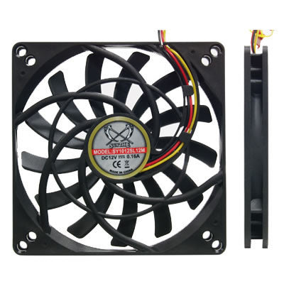 "Scythe ""KAZE JYU SLIM"" 100mm case fan  SY1012SL12"