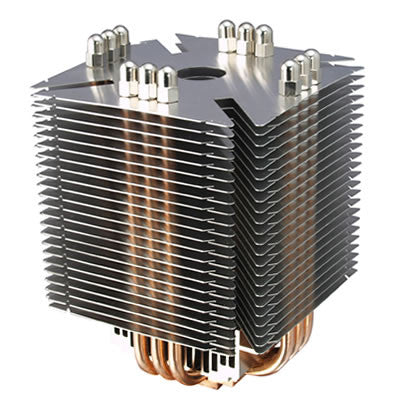 Scythe  NINJA PLUS Rev.B  SCNJ-1100P 6Heat Pipes CPU Cooler with 120mm Fan