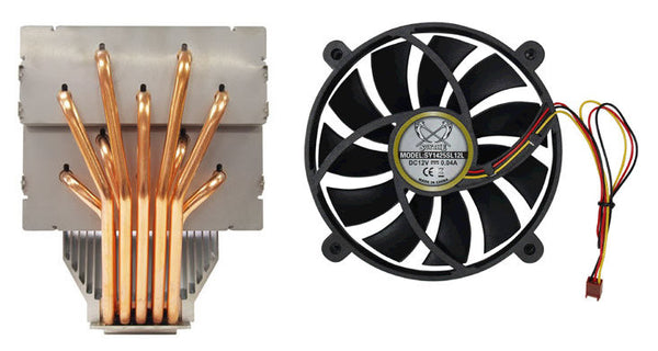 "Scythe ""OROCHI"" 10Heat Pipes CPU Cooler P/N SCORC-1000"