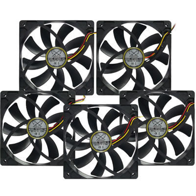 "Scythe ""SLIP STREAM"" 120x120x25mm Case Fan SY1225SL12 - Coolerguys"