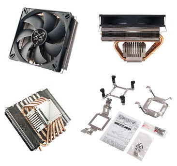 "Scythe ""ZIPANG"" Ultra Low Noise 6 Heat Pipes CPU Cooler  SCZP-1000"
