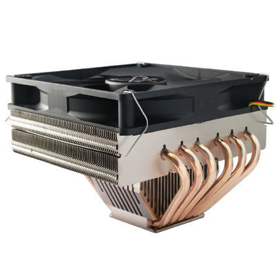 "Scythe ""ZIPANG"" Ultra Low Noise 6 Heat Pipes CPU Cooler  SCZP-1000 - Coolerguys"