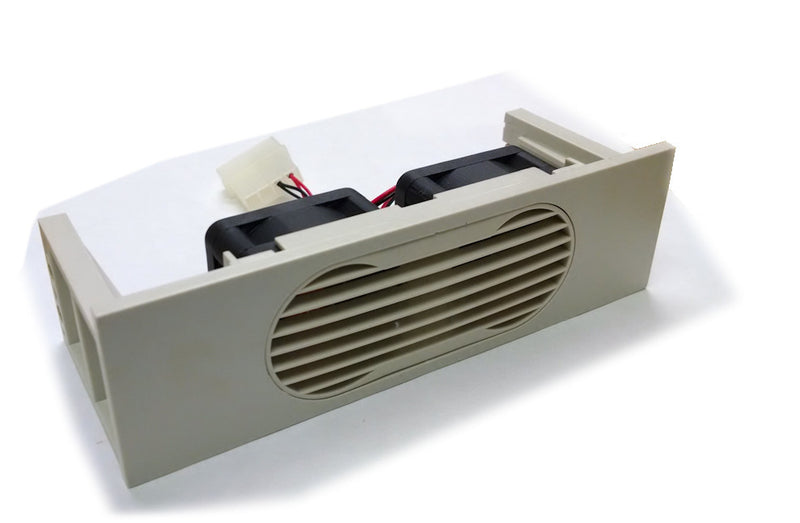 Spire Bay /Hard drive Cooler  2 fan Beige #HD04020S1H4 - Coolerguys