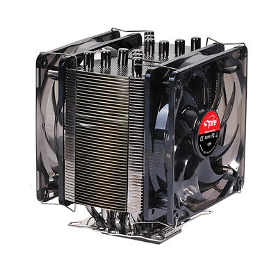 Spire Gemini Rev. 2 CPU Cooler  SP986B1-V2-2P - Coolerguys