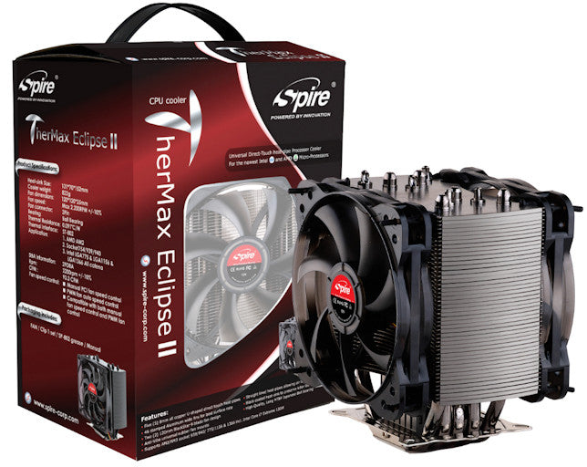 Spire TME III Thermal Eclipse-V3 #SP984N1CPU Cooler - Coolerguys