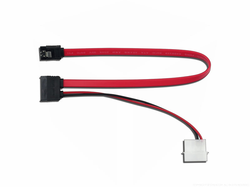 Streacom Slimline SATA Cable ST-SSATA - Coolerguys
