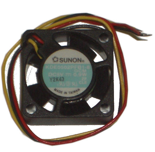 Sunon 25mmx10mm high speed 3 wire fan # KDE0502PFB1-8