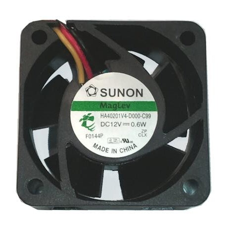 Sunon 40x40X20mm 12V Low Speed Vapo Bearing 3 Pin Fan-HA40201V4-D000-C99 - Coolerguys