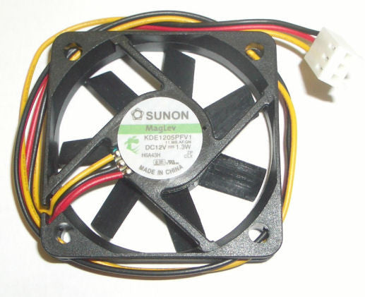 Sunon 50x10mm High speed 3 pin fan # KD1205PFB1 - Coolerguys