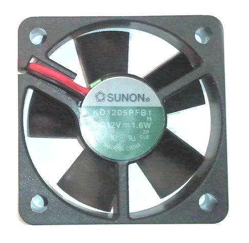Sunon 50x50x10mm 12 volt fan # KD1205PFB1  4 pin molex