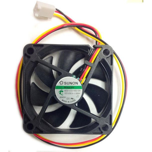Sunon 60x60x15mm Medium Speed 12 Volt Cooling Fan ME60151V2-000U-G99 - Coolerguys