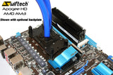 Swiftech Apogee HD Black PC Liquid Cooling Waterblock CPU Cooler