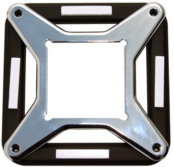 Swiftech LGA1366 Core I7 Hold Down Adapter Plate for Mounting APOGEE GTZ & GTX CPU Water Block