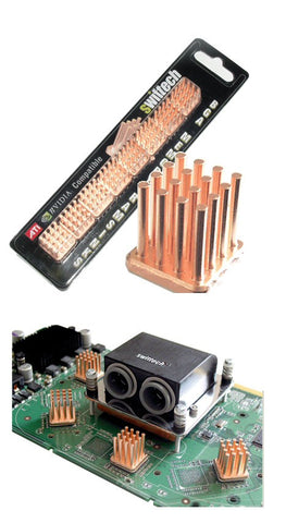 Swiftech MC14 Copper Pin VGA cooler HeatSinks