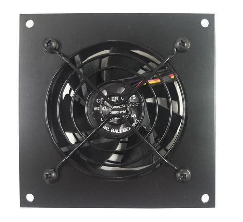 Coolerguys Single 80mm Fan Cooling Kit with Programmable Thermal Controller - Coolerguys