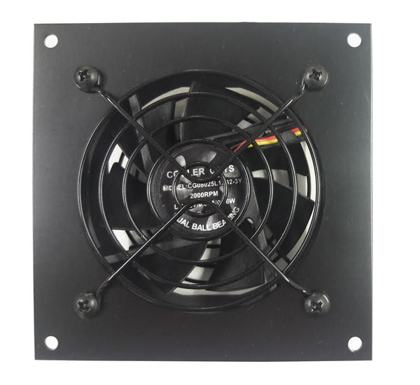 Coolerguys Single 80mm Fan Cooling Kit with Programmable Thermal Controller