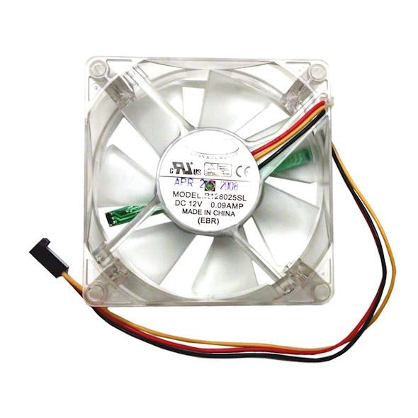 The Cooljag Programmable 80x80x25mm Mini-LED Flash Fan EF4-80 - Coolerguys
