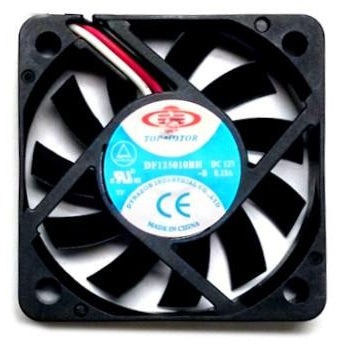 Top Motor 50x50x10mm High Speed 3 Pin Fan DF125010BH - Coolerguys