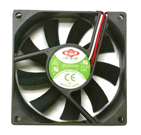 Top Motor 80 x 80 x 20mm High Speed fan 12V 3-4pin combo or 3 pin DF128020PH - Coolerguys