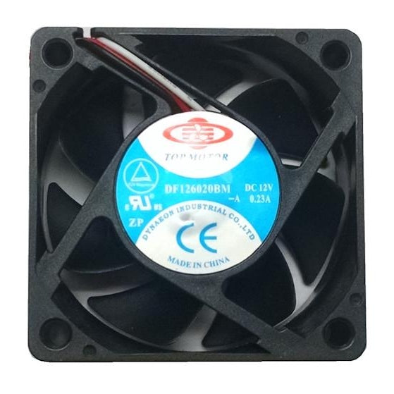 Top Motor 60x60x20mm 3 Pin Fan DF126020BM-3G - Coolerguys