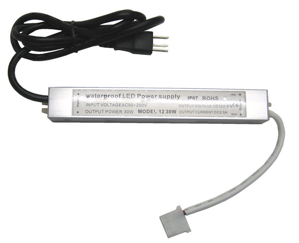 Under cabinet AC90-250V to 12 volt  LED Driver/power supply 2.5A PA-AD-LED