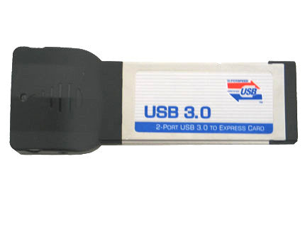 USB 3.0 Dual Port Express Card, Model OK3413 UPC# 810159013413