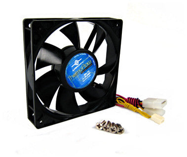 Vantec 120 x 25mm Thermoflow  Temperature Controlled Case Fan - Coolerguys