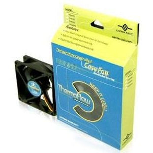 Vantec 80mm ThermoMaxx Fan (thermally controlled) #TF8025