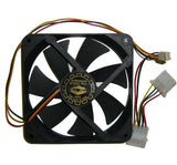 YATE LOON 120 x 20mm (thin) Low Speed Case Fan - D12SL-12C
