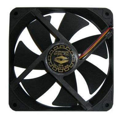 Yate Loon 120x120x20mm Low Speed Case Fan D12SL-12C - Coolerguys