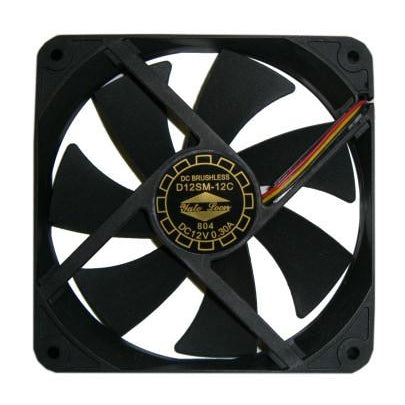 YATE LOON 120 x 20mm (thin) Medium Speed Case Fan - D12SM-12C