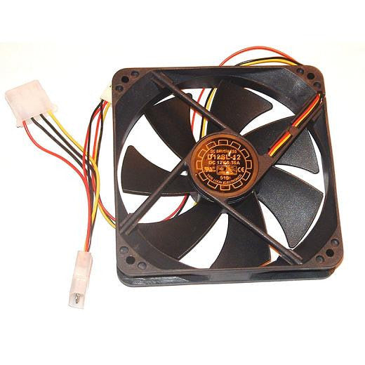 YATE LOON 120mm Case Fan - D12SL-12 Black/ Noiseless