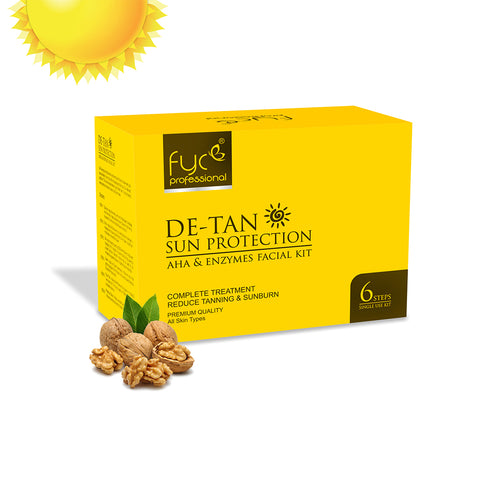 De-Tan Sun Protection Facial Kit