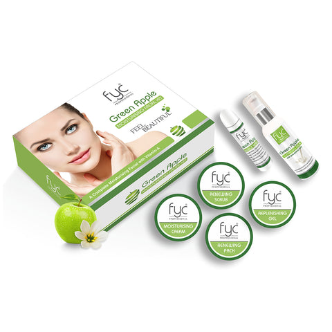GREEN APPLE FACIAL KIT