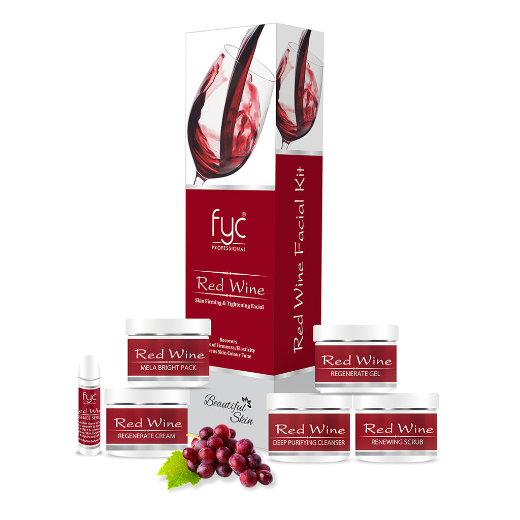 RED WINE FACIAL KIT
