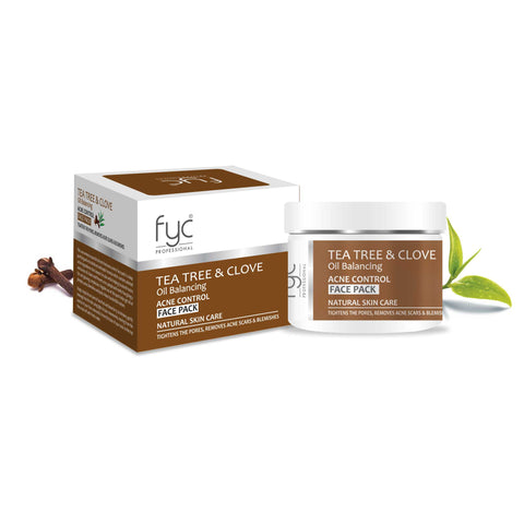 Tea Tree & Clove Oil Balancing Acne Control Face Pack - 250ML