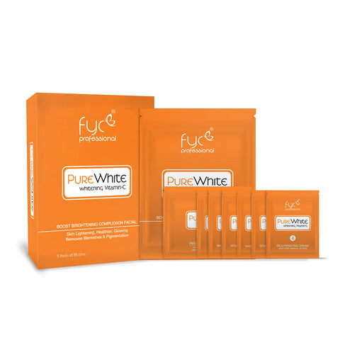 Pure White Vitamin C Facial Kit Pouch