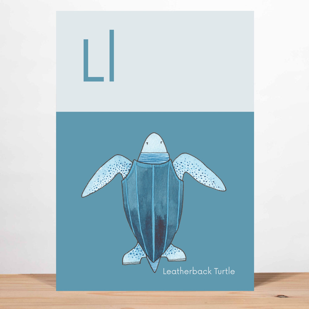 Load image into Gallery viewer, Animal Alphabet Art Prints —
