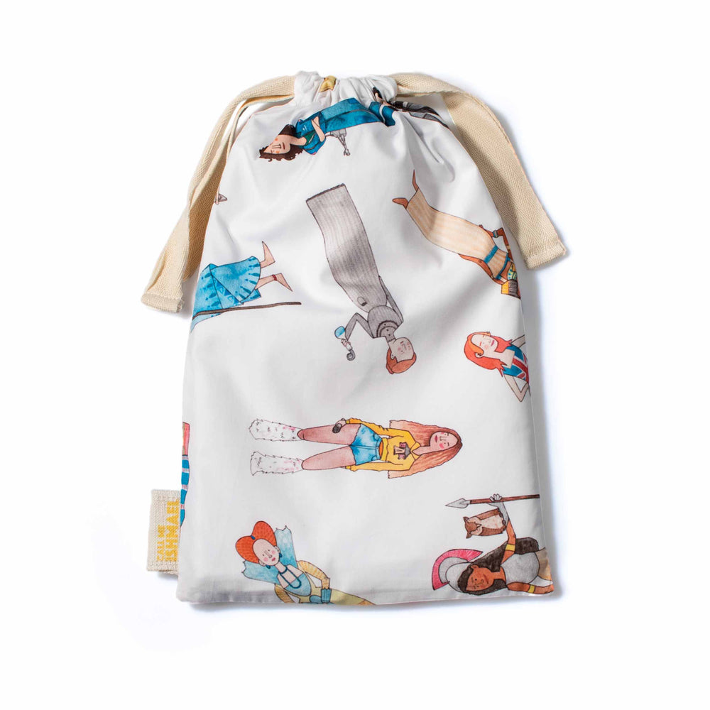 Bossy, like a Boss! Drawstring Bag
