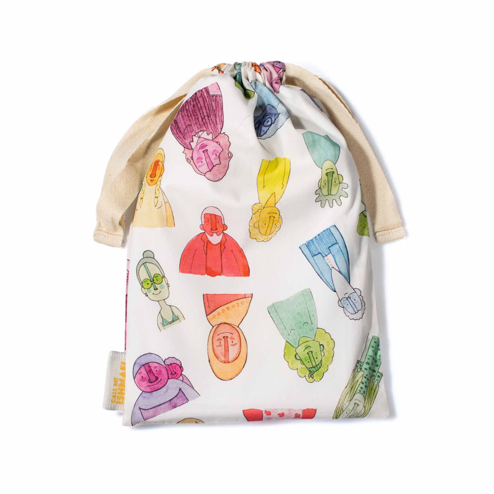 Rainbow Nation Drawstring Bag