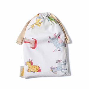 Load image into Gallery viewer, unicorn drawstring bag