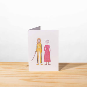 Load image into Gallery viewer, Kill Bill greeting card