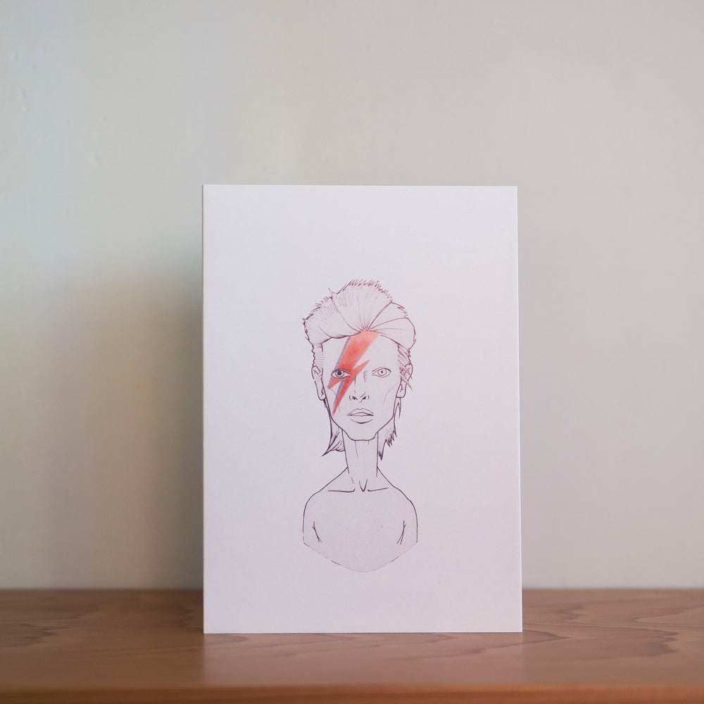 Load image into Gallery viewer, David Bowie Greeting Cards