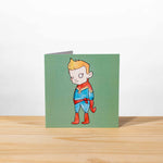 Little Heroes Greeting Cards